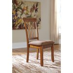 Rustic Dining Upholstered Side Chair (Set of 2)