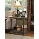 Rustic Hylas Medium Brown End Table – Corbin
