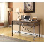 Rustic Hylas Medium Brown Wood Desk – Corbin