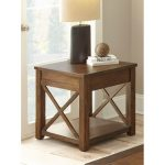 Rustic Mocha Brown Coffee Table – Lenka