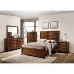 Rustic Modern Oak 6-Piece King Bedroom Set – Kelton