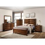 Rustic Modern Oak 6-Piece Queen Bedroom Set – Kelton