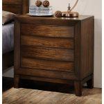 Rustic Modern Oak Nightstand – Kelton