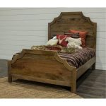 Rustic Natural King Bed – Thurston