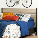 Rustic Oak Full/Queen Headboard – Morice