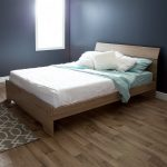 Rustic Oak Queen Bed (60 Inch) – Fusion