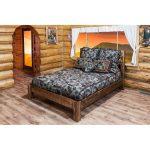 Rustic Twin Platform Bed – Homestead