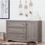 Sand Oak Dresser with Door – Savannah
