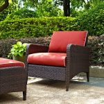 Sangria Wicker Arm Chair – Kiawah