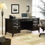 Sauder Wood Executive Desk – Shoal Creek