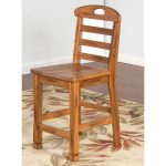 Sedona 24 Inch Ladderback Counter Stool