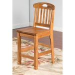 Sedona 24 Inch Slatback Counter Stool
