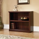 Select Cherry 2-Shelf Bookcase