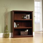 Select Cherry 3-Shelf Bookcase