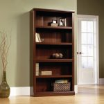 Select Cherry 5-Shelf Bookcase