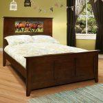 Shaker Chocolate LightHeaded Full Size Bed
