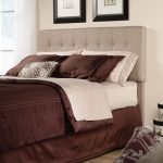 Shoal Creek Camel Queen Upholstered Headboard