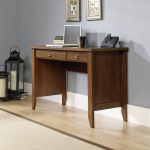 Shoal Creek Oiled Oak Computer Desk