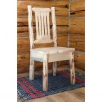 Side Chair with Ergonomic Wooden Seat -Montana