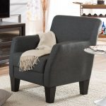 Silhouettes Dark Gray Club Chair