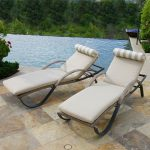 Slate Red Star Traders Chaise Lounge Pair