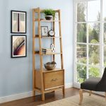 Small Modern Brown Bookcase – Landon