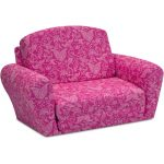 Small Paisley Candy Pink Sleepover Sofa