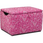 Small Paisley Candy Pink Storage Box