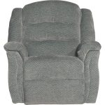 Smoke Gray Power Rocker Recliner – Max
