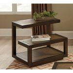 Smokey Tan Modern End Table – Bennett