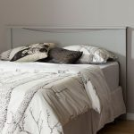 Soft Gray Full-Queen Panel Headboard – Step One