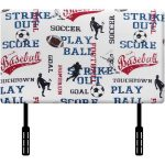 Sports Upholstered Twin Headboard