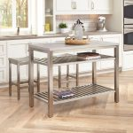 Stainless Steel Kitchen Island Set