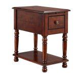 Stein World Cherry Oak Eldora Chair Side Table