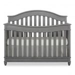 Storm Gray 5-in-1 Convertible Crib – Hampton