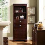 Tall Espresso Bathroom Cabinet – Lydia