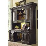 Telluride Furniture Wood Desk With Hutch