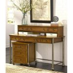 The Orleans Home Styles Desk with Hutch and File