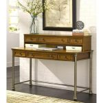 The Orleans Home Styles Executive Desk and Hutch
