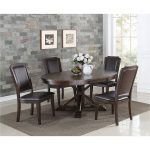 Tobacco 5-Piece Dining Set – Montreal