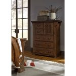 Tobacco Brown Classic Chest of Drawers – Forrester