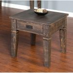 Tobacco Brown End Table – Homestead Collection