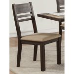Tobacco Contemporary Dining Chair – European