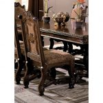 Traditional Cherry Upholstered Dining Room Chair – Neo Renaissance.