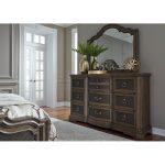 Traditional Chestnut Brown Dresser – Valley Springs