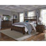 Traditional Cordovan Brown 6-Piece Queen Bedroom Set – Lucca