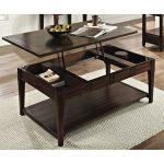 Traditional Dark Brown Lift Top Coffee Table – Crestline