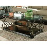 Traditional Glass Top Coffee Table – Seville