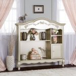 Traditional Gold Dust Hutch-Bookcase – Aurora