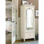 Traditional Lace White Armoire – Gabriella